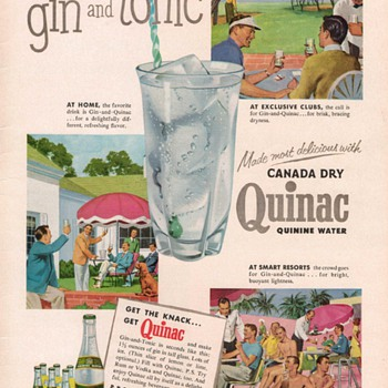 1954 Canada Dry Advertisement - Advertising