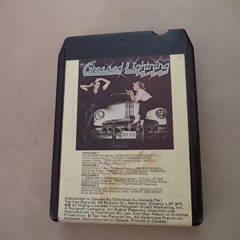 8 Track Tape - Greased Lightning