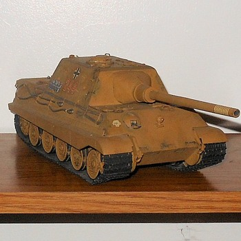 Hunting Tiger Tank Destroyer Model by Tamiya 1/35th Scale