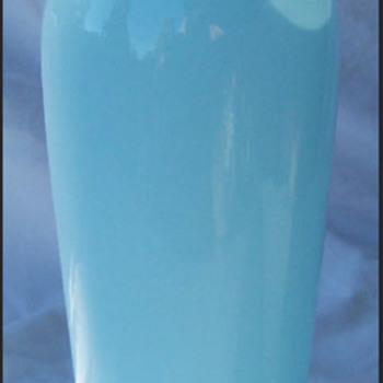 TANGO VASE - PALE BLUE  - Art Glass