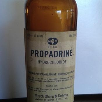 Merck Sharp & Dohm- Propadrine HCL Elixir