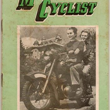 1956 - N.Z. Motor Cyclist Magazine