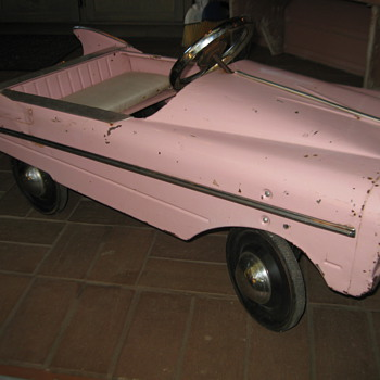 Murray 1959 Pink Cadillac pedal car - Toys