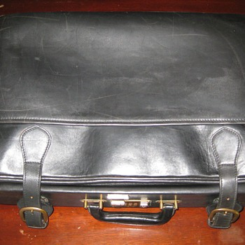 MADLER Leather Luggage, West Germany.