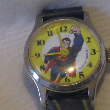1977-78 Superman Wrist watch