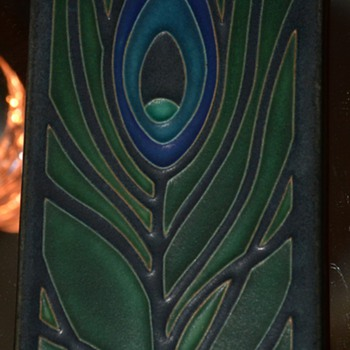 Motawi Tile - Peacock Feather - Art Pottery