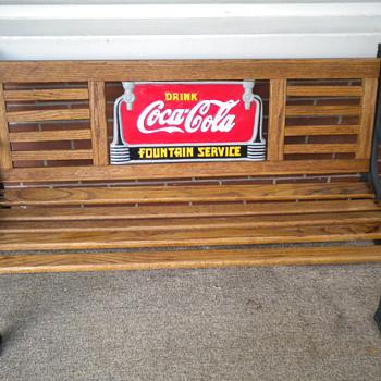 Coca Cola bench - Coca-Cola