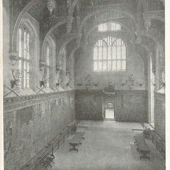 THE GREAT HALL, HAMPTON COURT PALACE - Postcards