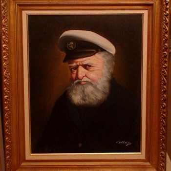 Sea Captain Painting By Pelbam - Visual Art