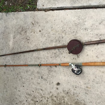 Old rod and reel  - Fishing