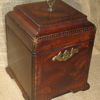 18th Century  .  .  .  'Chippendale Tea Caddy' - Kitchen