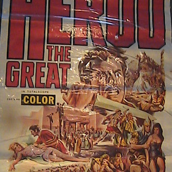 Vintage Movie Poster &quot;Herod The Great&quot; 