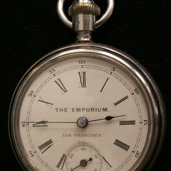 The Emporium S.F. New Haven Back Wind & Set - Pocket Watches