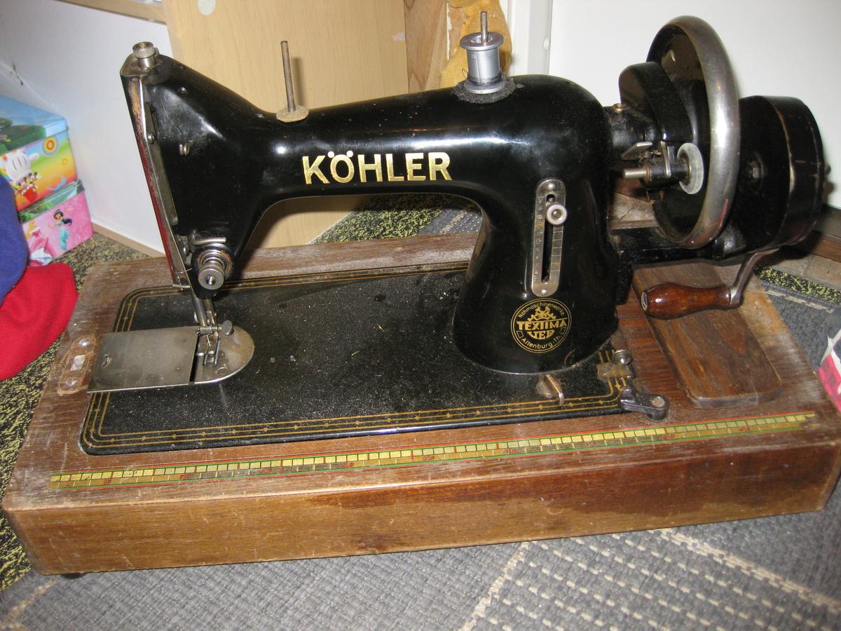 kohler antique sewing machine