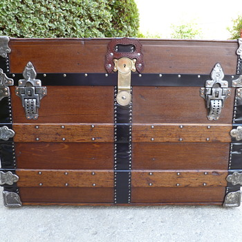 Exceptional Chas T Wilt Travel Trunk #1