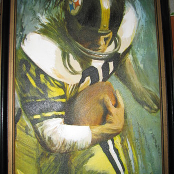 Steelers Vintage Painting?  help! - Football