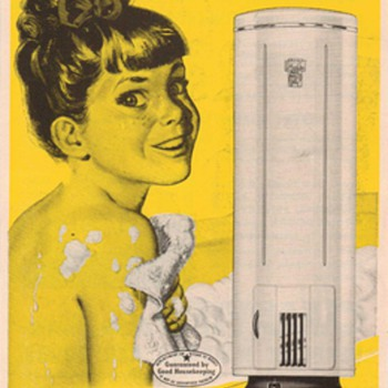 1950 - Permaglas Water Heaters Advertisements - Advertising