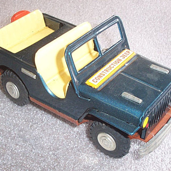 Construction Jeep - Toys