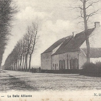 WATERLOO - LA BELLE ALLIANCE. - Postcards