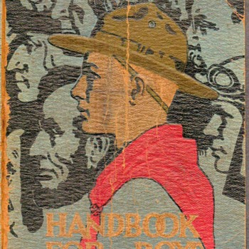 "1932-1933 - ""Handbook for Boys"" (Boy Scouts) - Books"