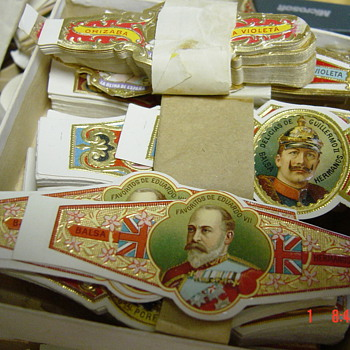 cigar bands - Paper