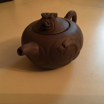 My favorite thrift store find....a little teapot! - Asian
