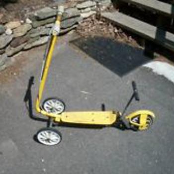 Vintage Honda Kick Scooter