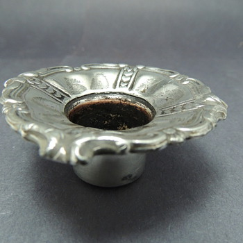 Interesting English Sterling Piece from Candelabra  - Sterling Silver