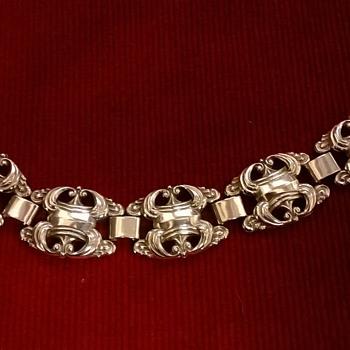 My Favorite 2 Buck Silver Bracelet, Friedrich Speidel of Pforzheim
