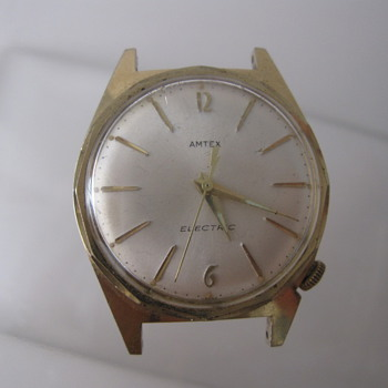 1950's Amtex Electric Wrist Watch - Wristwatches