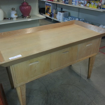 Looks like an autopsy table; what is it? - Furniture