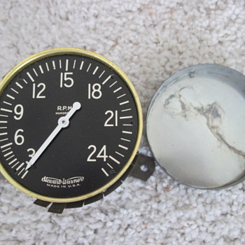 Tachometer to something....