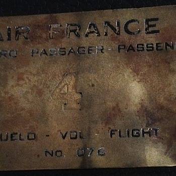 Air France ticket?