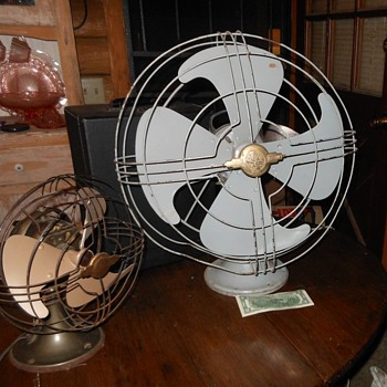 "A Tale of Two Fans GE Vortalex 16"" Fan 1940s"