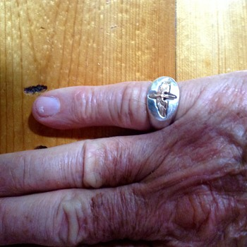 WWII US Air Force Ring 1942 - Military and Wartime