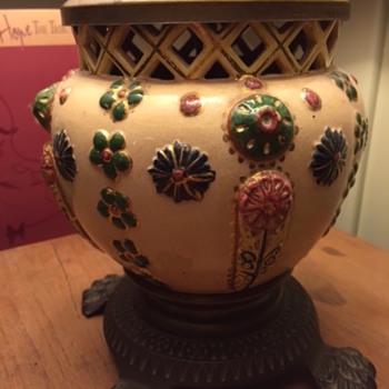 My grandmother's lamp?  Or vase-lamp?