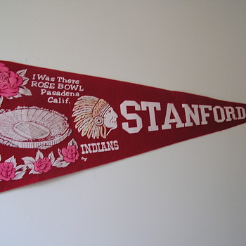 Stanford Cardinal Rose Bowl Pennant  - Football