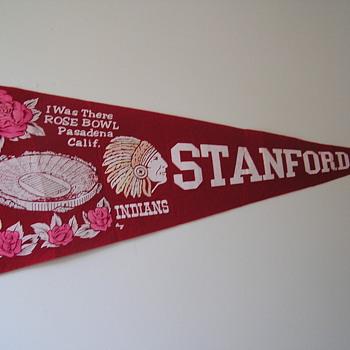 Stanford Cardinal Rose Bowl Pennant