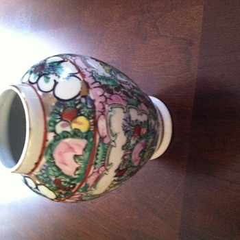 Japanese   Gotenborg  vase found at a local yard sale.      - Asian