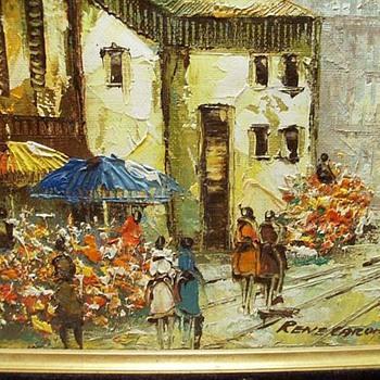 Oil Painting -- Rene Caron