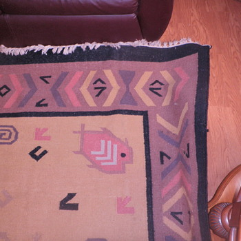My mystery rug.