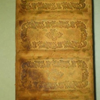 Danish handmade leatherbound Bible stunning high quality bookcraftmansship - Books