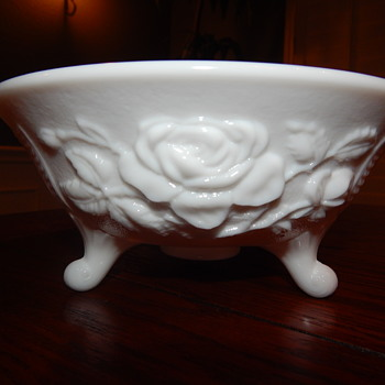 Imperial milk glass bowl - Glassware