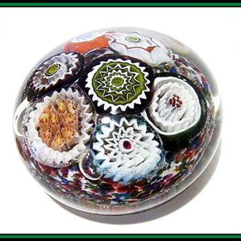 Aureliano Toso - Murano Art Glass - Paperweight - Art Glass