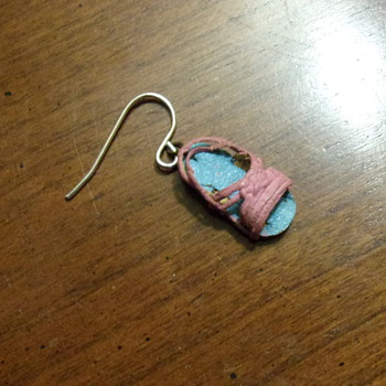 Huarache Earring