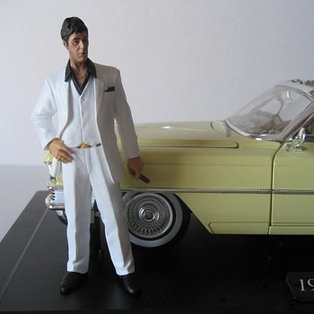 """Say Hello to My Little Friend"" ( 1963 Cadillac Series 62 - Limited Edition Die Cast Collectible) - Model Cars"