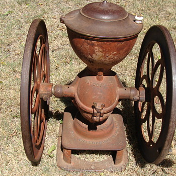 Antique Enterprise Coffee Grinder- What model number???