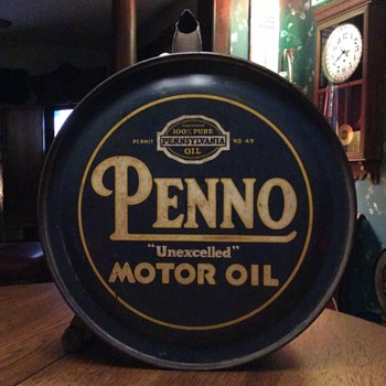 A few new picks from The Morphy Auction in Pennsylvania...PENNO, AMOCO,SCHRADER  - Petroliana