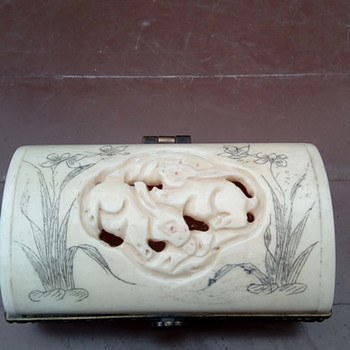 My bone trinket box - Asian