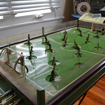 Tin soccer table game - looking for info
